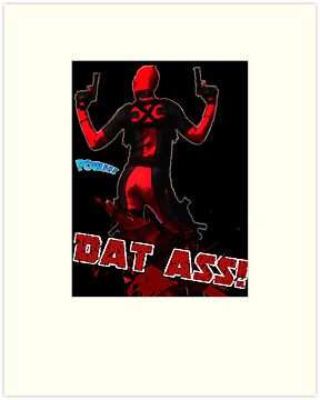 Deadpool - DAT A** by ShardSpider