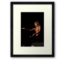 Iggy Pop 10 Framed Print