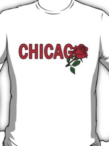Chicago Rose│Red T-Shirt