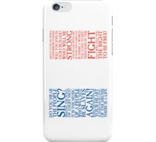 Les Miserables - Do You Hear The People Sing Flag (Reformatted for Apple Devices) iPhone Case/Skin