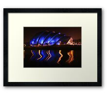 Armadillo, Glasgow Framed Print