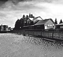 Train Station Heritage Park, Calgary, Alberta by Laurast