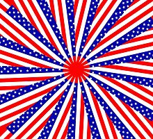 STARS AND STRIPES-JUBILEE by OTIS PORRITT