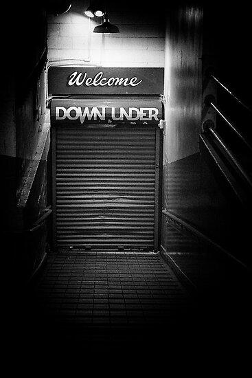 Down under by Larry  Stewart