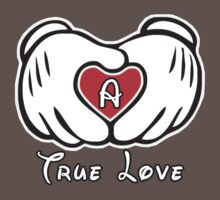 TRUE LOVE - INITIALS - A T-Shirt