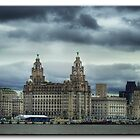 Liverpool Skyline by Trevena