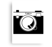 Camera - Because Cameras are Cool Canvas Print