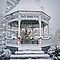 Gazebo in the Snow by Susan S. Kline