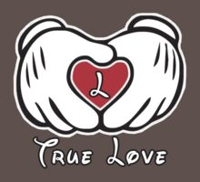 TRUE LOVE - INITIALS - L T-Shirt