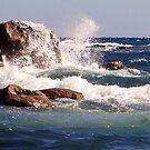 Surf on the rocks by georgieboy98