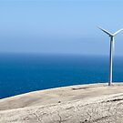 Wind Farm - Fleurieu Peninsula, South Australia. by Fiona Mulholland