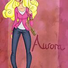 DisneyBound Aurora  by Chantelle Janse van Rensburg
