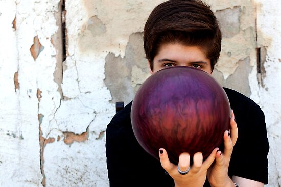 Bowling ball by Colleen Milburn