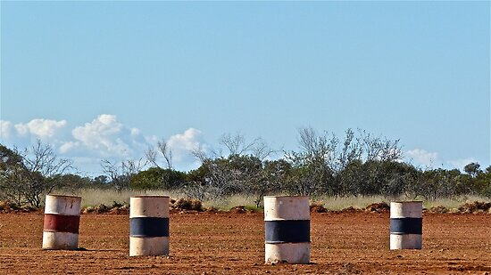 Winning Weekend - Lyndon Station, Western Australia. by Fiona Mulholland