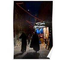 Christmass 2012 - The old city of  Jerusalem Poster
