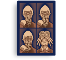 Ood One Out - Dalek Canvas Print