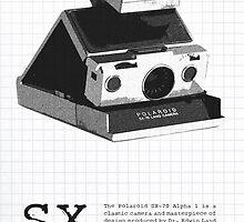 Polaroid SX-70 Alpha One by Maxim Grew
