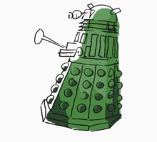 Green Dalek by PurpleSparklies