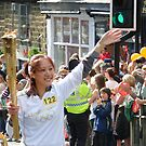 Olympic Torch Relay, Ilkley  by acespace