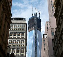One World Trade Center rising by chrstnes73