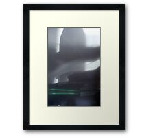 Experiment in the morning Framed Print