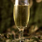 Still Life - Champagne & Green 1 by rsangsterkelly