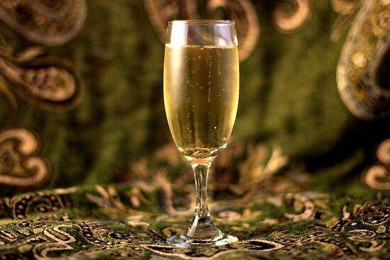 Still Life - Champagne & Green 2 by rsangsterkelly