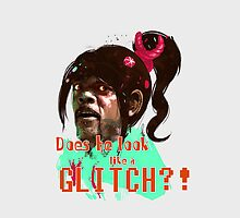 DOES HE LOOK LIKE A GL*TCH!? by philtomato