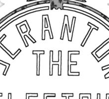 Scranton - Fleur-de-lis Sticker