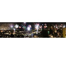 A Swede's view of 2012 New Year's Eve Photographic Print