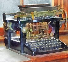 Steampunk - Vintage Typewriter by Susan Savad