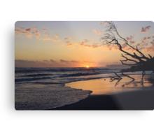 kingscliff beach sunrise ... Metal Print