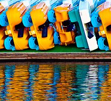 Paddle Boats by Upperleft Studios