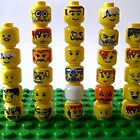 lego minifigure heads by the-splinters