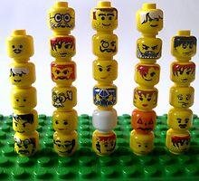 lego minifigure heads by the-splinters
