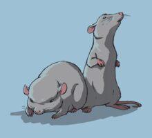 2 Laboratory Mice Kids Clothes