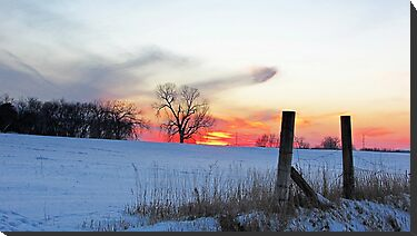 December Dusk by Greg Belfrage