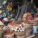 Market, Dalat, Vietnam by Glen O&#x27;Malley