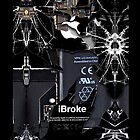 Broken, Rupture, Damage iPhone 5, iphone 4 4s, iPhone 3Gs, iPod Touch 4g case by Pointsale store.com