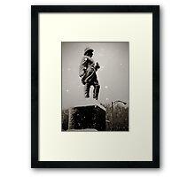 Prospect Park Statue  Framed Print