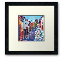 San Miguel de Allende Framed Print