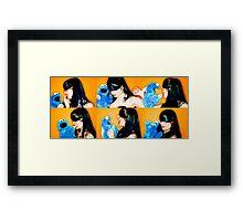 Monster Love Framed Print
