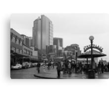 Pike Place (b&w) Canvas Print