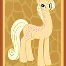 My Little Pony Friends - Creamsicle the Giraffe  by RileyOMalley