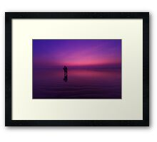 On the shores of time #2 Framed Print