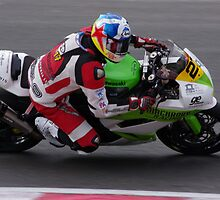 British Supersport 600s - #27 Robbie Stewart - Kawasaki 600 by motapics