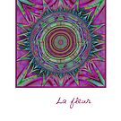 La Fleur..the card by inkedsandra