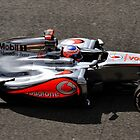 F1 Jenson Button by Pieter Colignon
