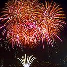Orange Blossom Bursts | New Years Eve | Sydney Harbour by Bryan Freeman