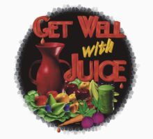 Get well with juice by Valxart Kids Clothes